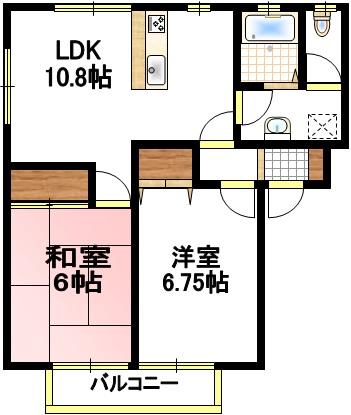 エルトン・シティ D号室