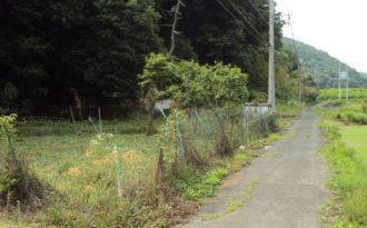 西江原町 土地
