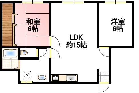安井コーポ 102号室